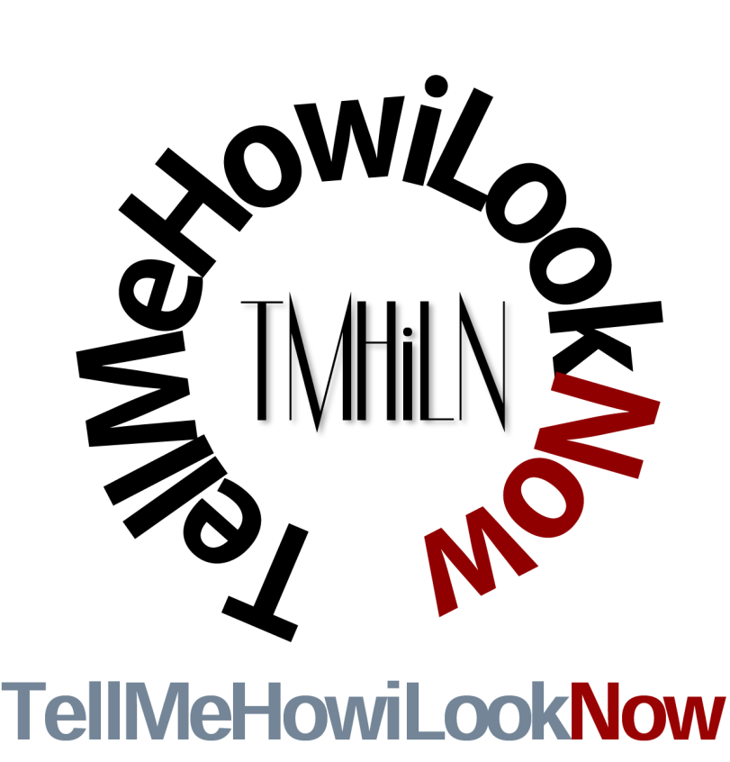 TellMeHowiLookNow Clothing Logo