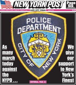 NY Post Cover 8/23/14