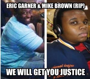 Eric Garner & Mike Brown