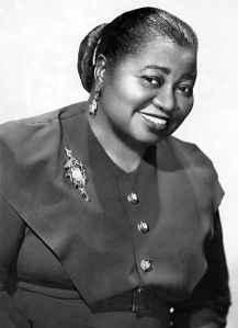 Hattie McDaniel  (June 10, 1895 – October 26, 1952)