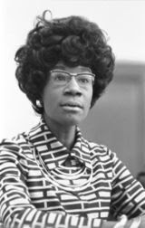 Shirley Anita St. Hill Chisholm  (November 30, 1924 – January 1, 2005)