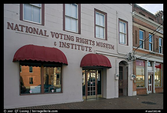 National Voting Rights Museum and Institute. Selma, Alabama, USA