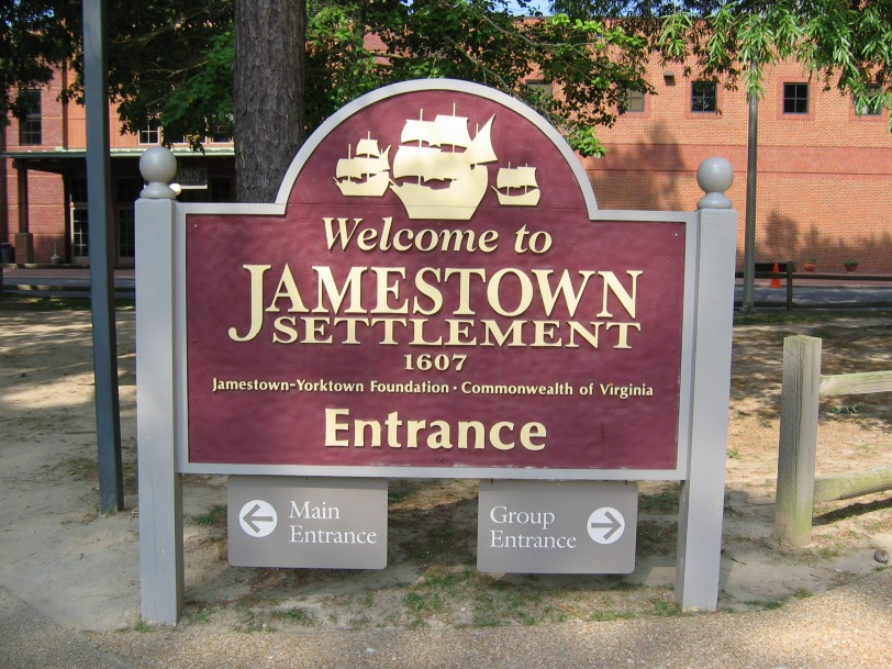 Jamestown, Virginia Present Day