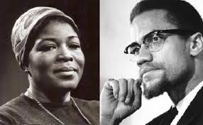 Malcolm X & Betty Shabazz