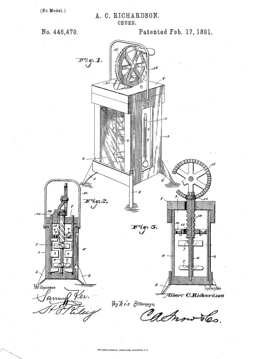 28 days of Black Inventions: Butter Churn