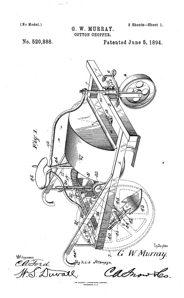 28 days of Black Inventions: Cotton Chopper