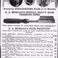 28 days of Black Inventions: Perm (Hair Relaxer)